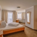 Doppelzimmer im Hotel Chasa Nova