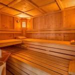 """Die finnische Sauna """"Samnauner Schwitzstube"""""""