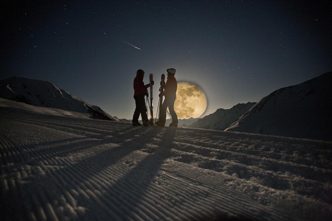 Winterferien Schweiz Samnaun